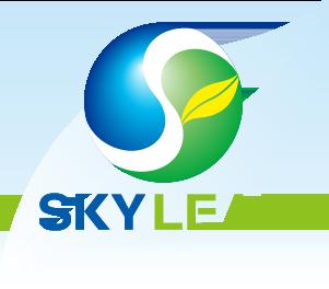 スカイリーフ株式会社のロゴ
